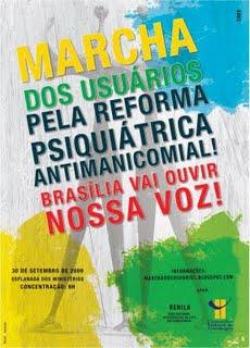 Marcha em Brasilia: Em defesa do SUS e da Reforma Psiquiatrica