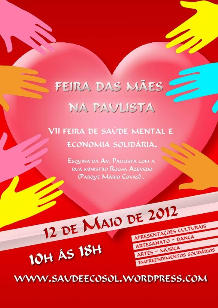 EasyCoop – Cooperativismo em Revista divulga a Feira das Mães na Paulista, 12 de Maio